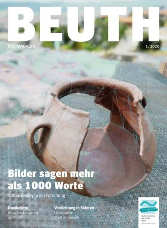 Artikel zu unserem Projekt im Beuth Magazin 1/2020