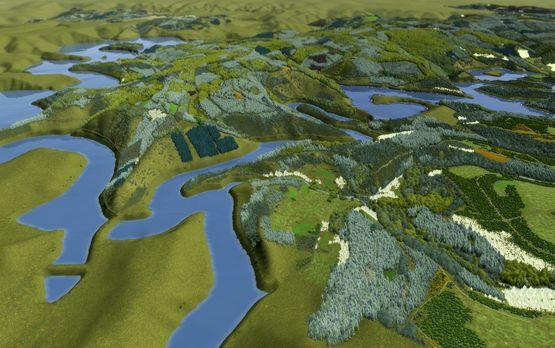 Der Nationalpark Eifel, visualisiert mit Visual Nature Studio (2009)