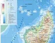 Madagaskar und North-Eastern Africa