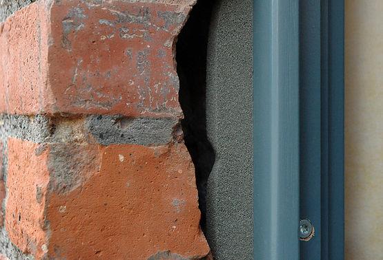 Anschluss Fenster - Mauerwerk