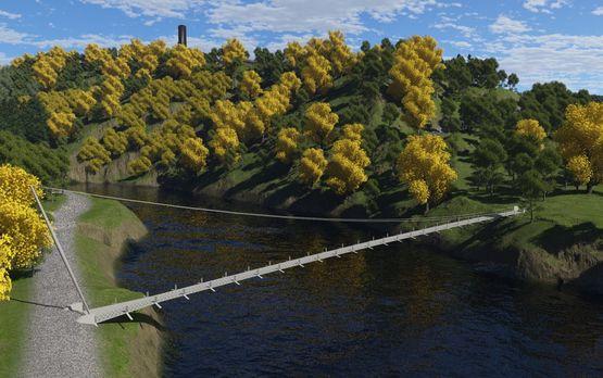 Terragen: Victor-Neels-Brücke (2013)