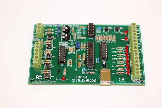 USB-Experimental Interface Board