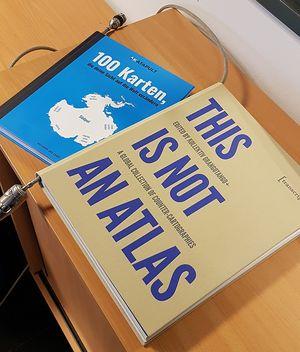 Zwei sehenswerte Bücher in unserem Computer-Pool
