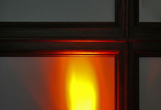 Detail Fensterkreuz