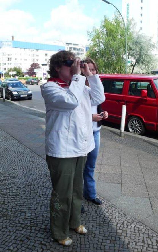 Mobilität bewahren durch Vergrößernde Sehhilfen