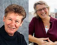 Laborleitungswechsel April 2020: Prof. Dr. Immelyn Domnick (rechts) übernimmt von Prof. Dr. Ursula Ripke (links)