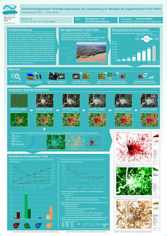 Poster: Satellitenbildgestützte Veränderungsanalyse der Landnutzung am Beispiel der Agglomeration Porto Velho